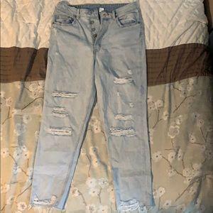 H&M boyfriend jeans size 6
